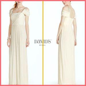 🏷 🆕 David's Bridal Venetian Inspired Dress